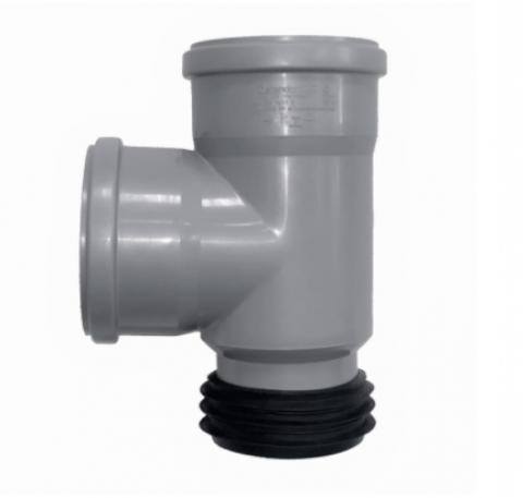 Тройник-восстановитель раструба ПП для внутр. канализации HTSA 110/110х87°