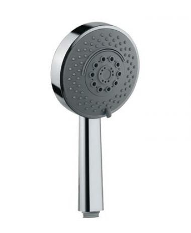 Ручной душ с 4 режимами (нормальный, мягкий, массажный и каскадный), диаметр 120 мм