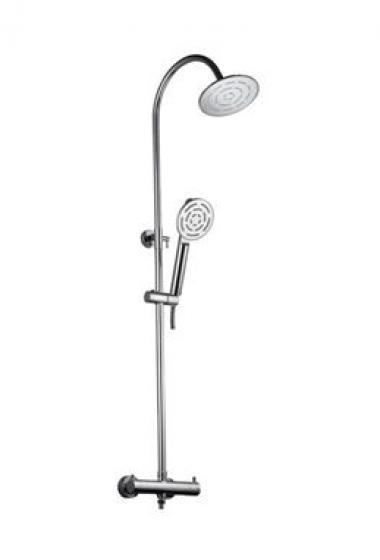 Мультифункциональный смеситель для душа с термостатом, с ручным душем