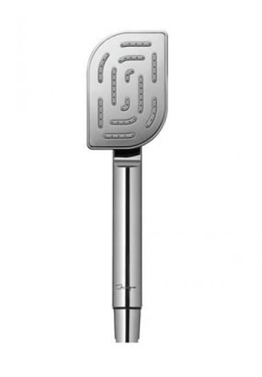 Ручной душ Maze из нержавеющей стали и ударостойкого пластика ABS, с одним режимом, диаметр лейки 68х100 мм