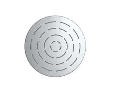 Верхний душ из хромированной латуни, диаметр 150 мм