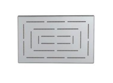Верхний душ Maze из нержавеющей стали, с одним режимом, размер 190х295 мм