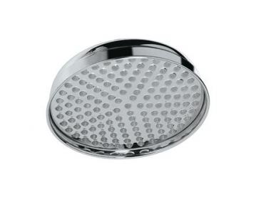 Верхний круглый душ из хромированной латуни