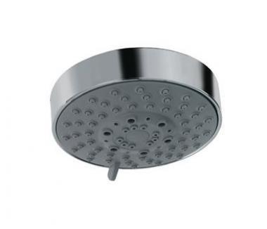 Верхний душ с 3 режимами (нормальный, мягкий и массажный), диаметр 100 мм