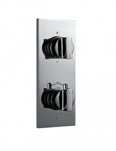 Встраиваемый термостатический смеситель для душа с тремя положениями дивертора