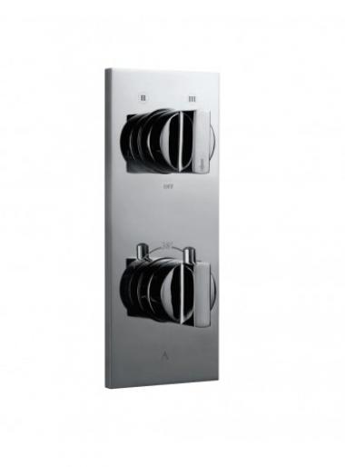 Встраиваемый термостатический смеситель для душа на 4 положения дивертора
