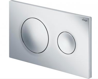 Кнопка смыва для инсталляции Prevista Visign for Style 20 Viega цвет матовый хром, пластик