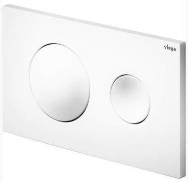 Кнопка смыва для инсталляции Prevista Visign for Style 20 Viega цвет альпийский белый, пластик