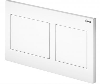 Кнопка смыва для инсталляции Prevista Visign for Style 21 Viega цвет альпийский белый, пластик