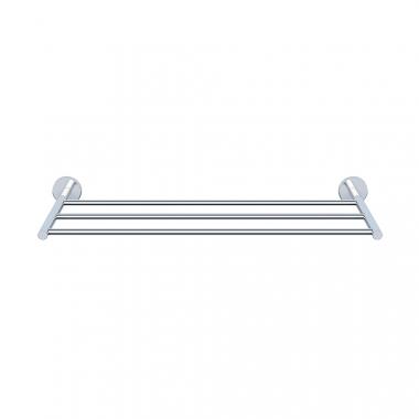 Полка для полотенца, хромированный металл, длина 600 мм