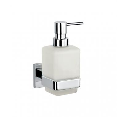 Настенный дозатор для жидкого мыла, стекло