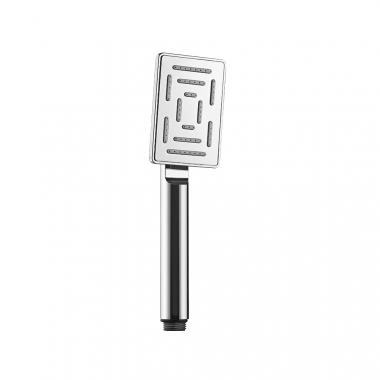 Ручной душ Maze из нержавеющей стали и ударостойкого пластика ABS, с одним режимом, диаметр лейки 65х95 мм