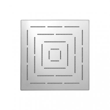Верхний душ Maze из нержавеющей стали, с одним режимом, размер 150х150 мм
