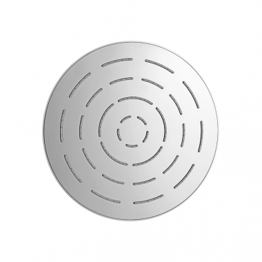 Круглый верхний душ, хромированная латунь, диаметр 200 мм