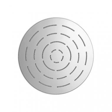 Круглый верхний душ, хромированная латунь, диаметр 240 мм