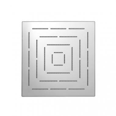Верхний душ Maze из нержавеющей стали, с одним режимом, размер 240х240 мм