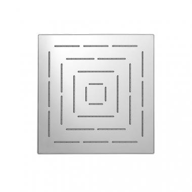 Верхний душ Maze из нержавеющей стали, с одним режимом, размер 300х300 мм