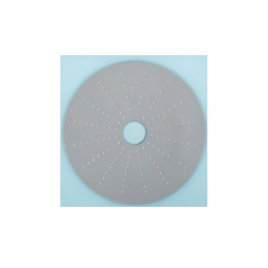 Верхний душ с подсветкой LED, диаметр 250х250 мм