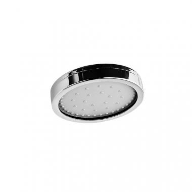 Верхний душ из хромированной латуни, с одним режимом, диаметр лейки 150 мм, с функцией самоочистки от известкового налета