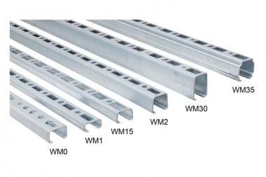 BIS RapidRail Профиль WM1 (pg) 30×15х2х2000мм
